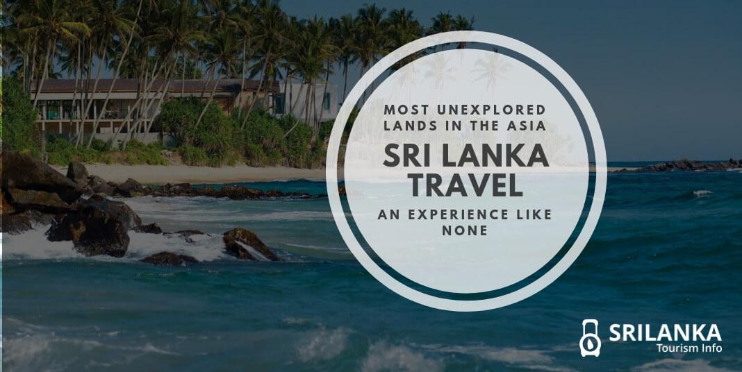 travelling in Sri Lanka