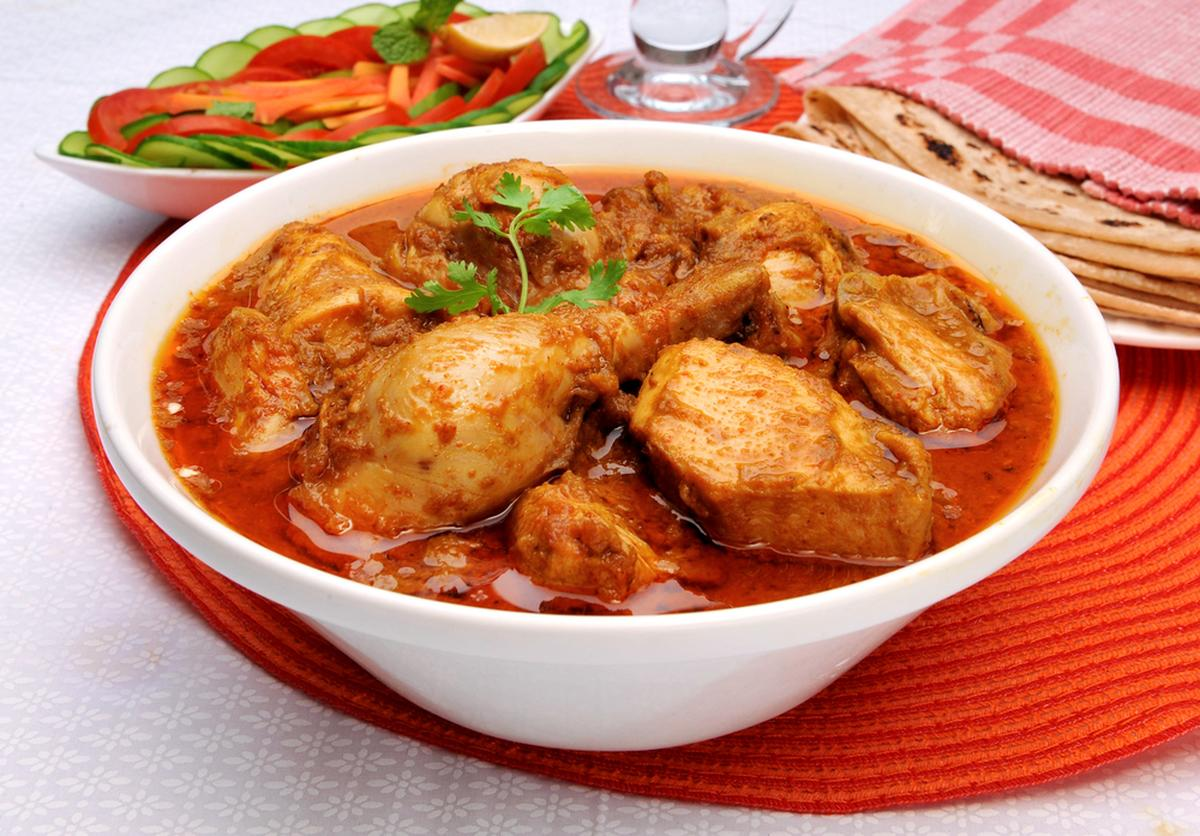 kukul mas curry (chicken curry)