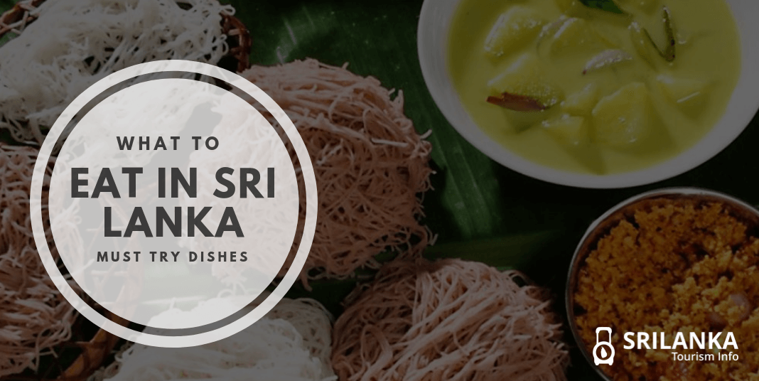what to eat in srilanka