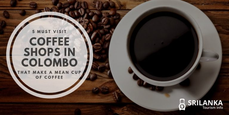 5 Coffee Shops in Colombo that Make a Mean Cup of Coffee