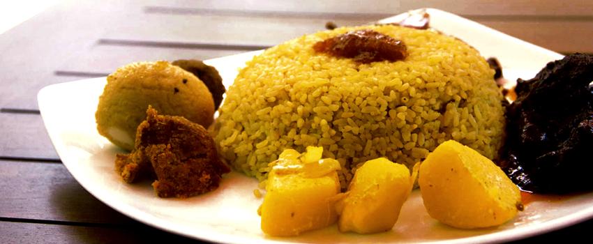 Sri Lankan food in Colombo