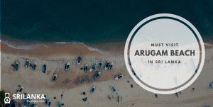ARUGAM BEACH IN SRI LANKA
