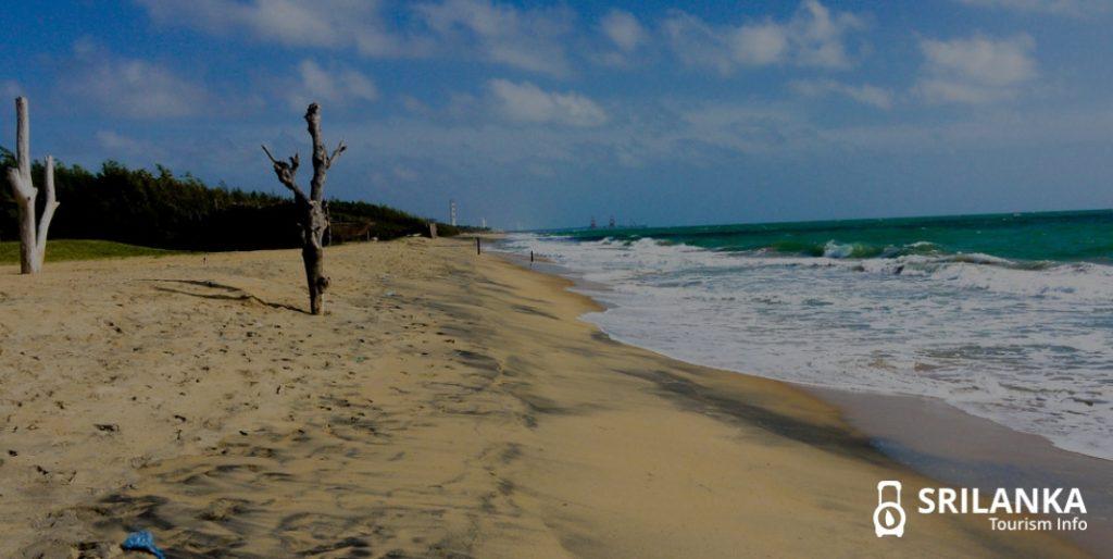 Kalpitiya Beach in SriLanka