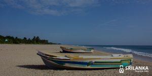 """Moonshine over the land"" – Nilaveli Beach in Sri Lanka"